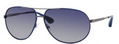 Marc by Marc Jacobs MMJ 215/P/S Sunglasses Sunglasses - OYOB Blue Dark Ruthenium (LO Azure Lens)