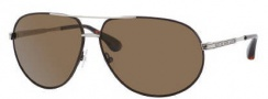 Marc by Marc Jacobs MMJ 215/P/S Sunglasses Sunglasses - ONCJ Brown Ruthenium (VW Brown Polarized Lens)