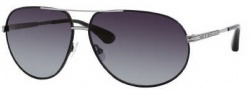 Marc by Marc Jacobs MMJ 215/P/S Sunglasses Sunglasses - OECE Matte Black Ruthenium (WJ Grayshpolarized Lens)