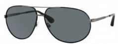 Marc by Marc Jacobs MMJ 215/P/S Sunglasses Sunglasses - OYOA White Ruthenium (LA Brown Lens)