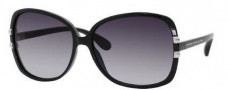 Marc by Marc Jacobs MMJ 216/S Sunglasses Sunglasses - 0D28 Shiny Black (JJ Gray Gradient Lens)