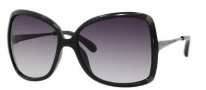 Marc by Marc Jacobs MMJ 217/S Sunglasses Sunglasses - OKKL Black / Ruthenium (JJ Gray Gradient Lens)
