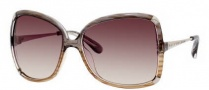 Marc by Marc Jacobs MMJ 217/S Sunglasses Sunglasses - OYQP Gray Beige / Gold (S2 Brown Gradient Lens)