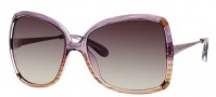 Marc by Marc Jacobs MMJ 217/S Sunglasses Sunglasses - OYQO Violet / Brown (K8 Brown Gradient Lens)