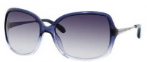 Marc by Marc Jacobs MMJ 218/S Sunglasses Sunglasses - OYQV Blue Fade Ruthenium (DG Smoke Gradient Lens)