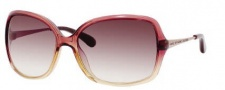 Marc by Marc Jacobs MMJ 218/S Sunglasses Sunglasses - OYQZ Burgundy Beige Red (02 Brown Gradient Lens)