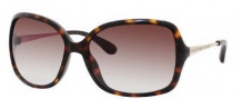 Marc by Marc Jacobs MMJ 218/S Sunglasses Sunglasses - ONHO Dark Havana Gold (02 Brown Gradient Lens)