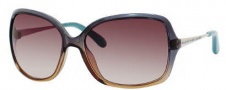 Marc by Marc Jacobs MMJ 218/S Sunglasses Sunglasses - OYQX Petroleum Brown Light Gold (S2 Brown Gradient Lens)