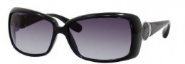 Marc by Marc Jacobs MMJ 222/S Sunglasses Sunglasses - 0D28 Shiny Black (JJ Gray Gradient Lens)