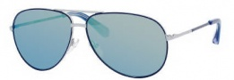 Marc by Marc Jacobs MMJ 227/S Sunglasses Sunglasses - 0O08 Blue Ruthenium (SK Blue Mirror Lens)