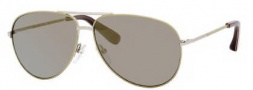 Marc by Marc Jacobs MMJ 227/S Sunglasses Sunglasses - 0O06 Khaki Gold (JO Gray Bronze Mirror Lens)