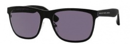 Marc by Marc Jacobs MMJ 229/S Sunglasses Sunglasses - 0MU5 Shiny Dark Matte Black (Y1 Gray Lens)