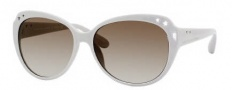 Marc by Marc Jacobs MMJ 232/S Sunglasses Sunglasses - 0R4X White Pink (81 Brown Gray Gradient Lens)