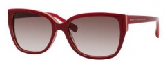 Marc by Marc Jacobs MMJ 238/S Sunglasses Sunglasses - 0D96 Red Yellow Pink (K8 Brown Gradient Lens)