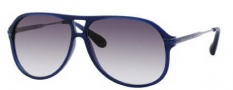 Marc by Marc Jacobs MMJ 239/S Sunglasses Sunglasses - 0ASQ Matte Blue Ruthenium (JJ Gray Gradient Lens)