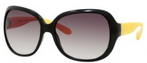 Marc by Marc Jacobs MMJ 240/S Sunglasses Sunglasses - OWEC Black Yellow (JS Gray Gradient Lens)