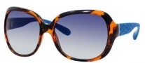 Marc by Marc Jacobs MMJ 240/S Sunglasses Sunglasses - OWEF Havana Red / Turquoise (KX Dark Blue Gradient Lens)