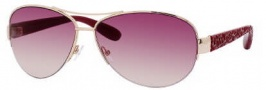 Marc by Marc Jacobs MMJ 242/S Sunglasses Sunglasses - OWE2 Gold Red Burgundy (PB Pink Gradient Lens)