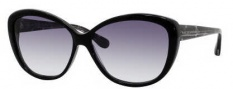 Marc by Marc Jacobs MMJ 243/S Sunglasses Sunglasses - OHW3 Black Check (JJ Gray Gradient Lens)