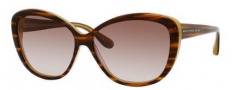 Marc by Marc Jacobs MMJ 243/S Sunglasses Sunglasses - OHKH Havana Striated (02 Brown Gradient Lens)