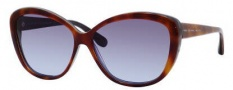 Marc by Marc Jacobs MMJ 243/S Sunglasses Sunglasses - OHFC Havana Tobaco Blue (LN Gray Azure ds Lens)