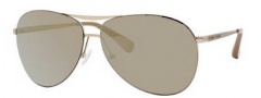 Marc by Marc Jacobs MMJ 244/S Sunglasses Sunglasses - 0J5G Gold (PH Dark Brown Lens)