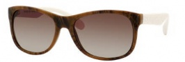 Marc by Marc Jacobs MMJ 246/S Sunglasses Sunglasses - OWEK Havana Marble Cream (JD Brown Gradient Lens)