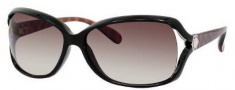 Marc by Marc Jacobs MMJ 247/S Sunglasses Sunglasses - 0WAJ Black Havana Gold (CC Brown Gradient Lens)