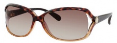 Marc by Marc Jacobs MMJ 247/S Sunglasses Sunglasses - 0Y8P Havana Beige Brown (S1 Brown Gradient Lens)