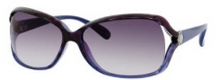 Marc by Marc Jacobs MMJ 247/S Sunglasses Sunglasses - 0Y9C Havana Blue (9C Dark Gray Gradient Lens)