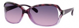 Marc by Marc Jacobs MMJ 247/S Sunglasses Sunglasses - 0WAH Havana Violet (FF Gray Fuschia Lens)
