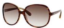 Marc by Marc Jacobs MMJ 248/S Sunglasses Sunglasses - 0HKH Havana Striated (02 Brown Gradient Lens)