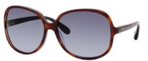 Marc by Marc Jacobs MMJ 248/S Sunglasses Sunglasses - 0HFC Havana Tobaco Blue (LN Gray Azura ds Lens)