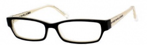 Marc by Marc Jacobs MMJ 453 Eyeglasses Eyeglasses - 0P0H Black Beige Crystal