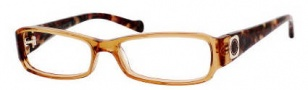 Marc by Marc Jacobs MMJ 455 Eyeglasses Eyeglasses - 00YBA Honey Havana / Marble