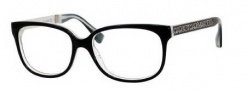 Marc by Marc Jacobs MMJ 462 Eyeglasses Eyeglasses - 0M0l Black / White Black