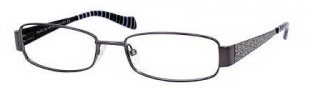 Marc by Marc Jacobs MMJ 505 Eyeglasses Eyeglasses - OVRW Dark Ruthenium / Black