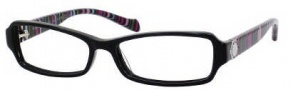 Marc by Marc Jacobs MMJ 506 Eyeglasses Eyeglasses - 0V0Y Black / Striped Fuchsia