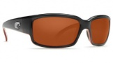Costa Del Mar Caballito Sunglasses Black Coral Frame Sunglasses - Copper / Costa 580G