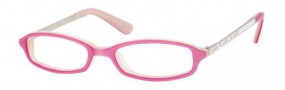 Juicy Couture Love Me Eyeglasses Eyeglasses - OEU8 Pink White
