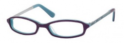 Juicy Couture Love Me Eyeglasses Eyeglasses - OEUA Purple Teal