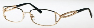 Caviar 1807 Eyeglasses Eyeglasses - (16) Brown w/ Clear Crysta Stones