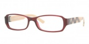 Burberry BE2082A Eyeglasses Eyeglasses - 3014 Violet Oxblood