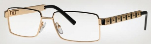Caviar 4858 Eyeglasses Eyeglasses - (16) Brown w/ Dark Brown Leather