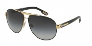 Dolce & Gabbana DG2099 Sunglasses Sunglasses - 10818G Gold Black / Gray Gradient