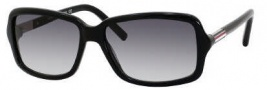 Tommy Hilfiger 1000/S Sunglasses Sunglasses - 0807 Black / Palladium (JJ Gray Gradient Lens)