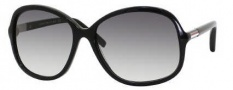 Tommy Hilfiger 1001/S Sunglasses Sunglasses - 0807 Black (JJ Gray Gradient Lens)