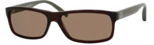 Tommy Hilfiger 1003/S Sunglasses Sunglasses - 0UO8 Dark Olive / Gray (X7 Brown Lens)