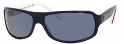 Tommy Hilfiger 1007/S Sunglasses Sunglasses - OUKR Blue Red White (9A Blue Lens)