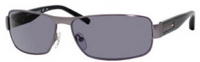 Tommy Hilfiger 1009/S Sunglasses Sunglasses - 0U0H Dark Ruthenium (QF Smoke Lens)
